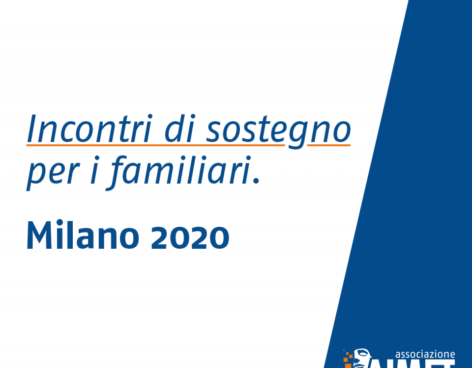 Incontri di sostegno Milano 2020